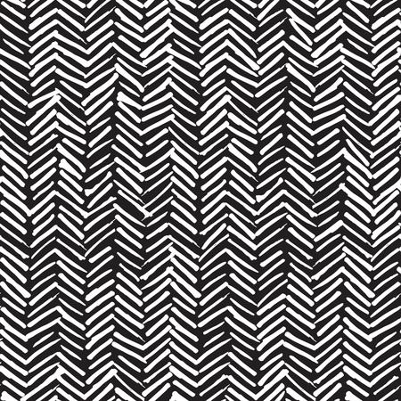 Modelo inconsútil del vector, fondo abstracto con dibujados a mano manchada líneas al azar y moda textura estilo inconformista.