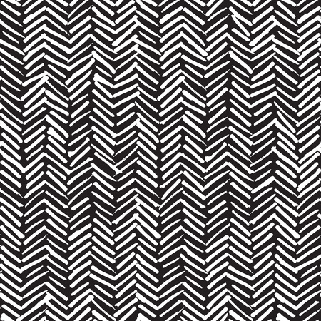 herringbone background: Vector seamless pattern, abstract background with hand drawn smeared random lines and trendy hipster style texture.