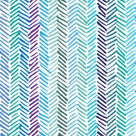 Vector seamless pattern, abstract background with hand drawn smeared random lines and trendy hipster style texture.