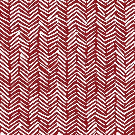 Fabric Texture: Vector seamless pattern, abstract background with hand drawn smeared random lines and trendy hipster style texture.