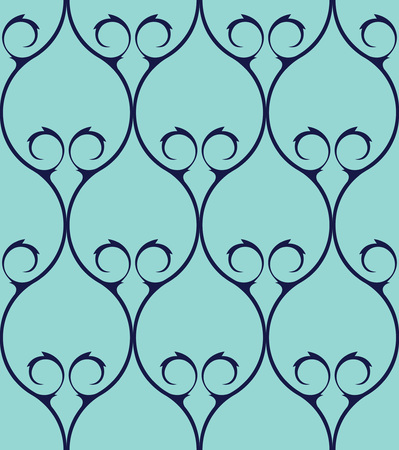 wall paper: Vector seamless pattern design with ornamental geometric grid in an elegant color palette, abstract classical repeating background for all web and print use