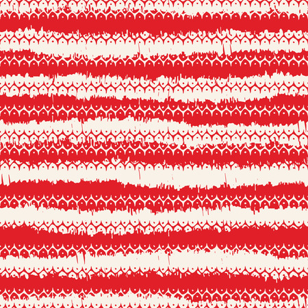 fabric pattern: Vector seamless pattern design with native abstract stripes and dots, ethnic repeating background for all web and print purposes.