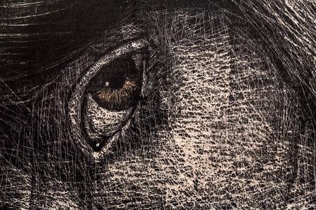 Istanbul, Turchia - 13 novembre 2015: un'opera d'arte alla 10 ° edizione dell'annuale Artshow Istanbul contemporanea tenutosi a Lutfi Kirdar Convention Center, Istanbul il 13 novembre. Archivio Fotografico - 62583892