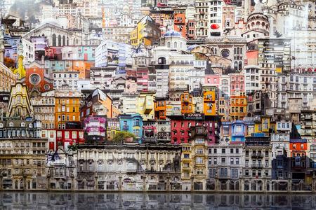 Estambul, Turquía - 13 de noviembre de 2015: obra de arte en la 10ª edición de la artshow anual contemporáneo celebrada en Estambul Lutfi Kirdar Convention Center, Estambul el 13 de noviembre. Editorial