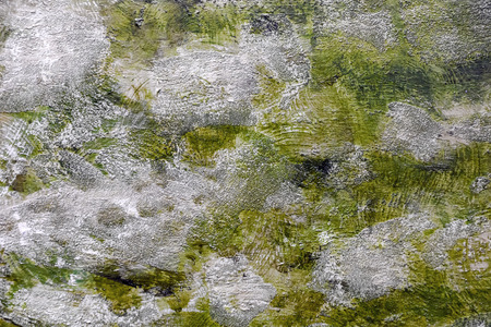 degraded: Painted canvas fragment, abstract art painting detail texture background Stock Photo