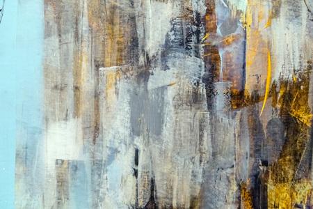 абстрактный: Окрашенный фрагмент холст, абстрактного искусства картины подробно текстуру фона