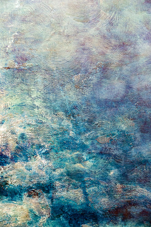 Painted canvas fragment, abstract art painting detail texture background Foto de archivo
