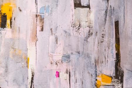 Verniciato frammento di tela, pittura astratta dettaglio texture di sfondo Archivio Fotografico - 54918545