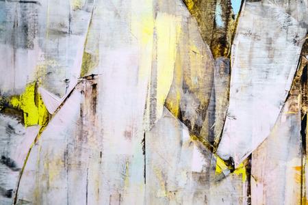 fragmento de lienzo pintado, pintura del arte abstracto detalle de la textura de fondo