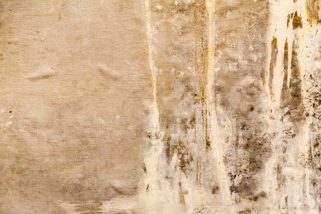 canvas painting: Painted canvas fragment, abstract art painting detail texture background Stock Photo