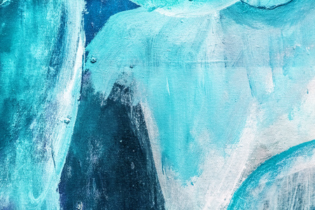 Painted canvas fragment, abstract art painting detail texture background 스톡 콘텐츠