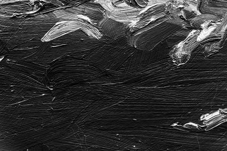 pintura abstracta: fragmento de lienzo pintado, pintura del arte abstracto detalle de la textura de fondo