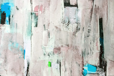 Painted canvas fragment, abstract art painting detail texture background 版權商用圖片