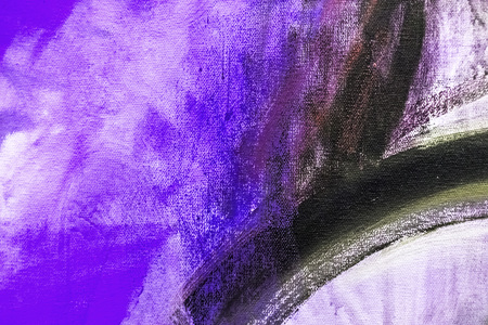 Painted canvas fragment, abstract art painting detail texture background 写真素材
