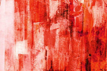 Painted canvas fragment, abstract art painting detail texture background Stockfoto