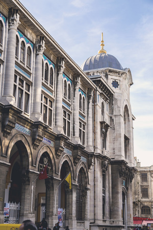 ottoman empire: Exterior of the Grand Post Office and the former Ottoman Empire Ministry of Post building in Eminonu, Istanbul