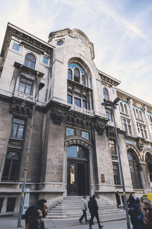 eminonu: Exterior of the Grand Post Office and the former Ottoman Empire Ministry of Post building in Eminonu, Istanbul