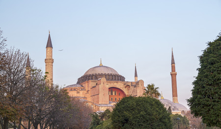 sophia: Hagia Sophia, Istanbul, Turkey Stock Photo