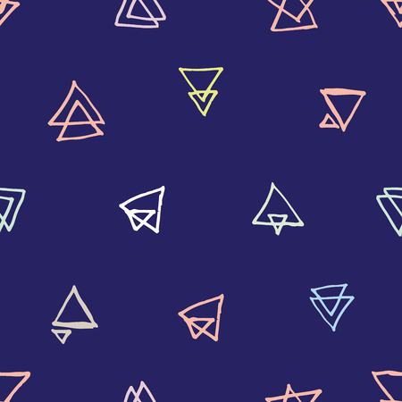 handdrawn: Trendy and highly fashionable decorative seamless pattern design. Surface pattern for all web and print purposes.