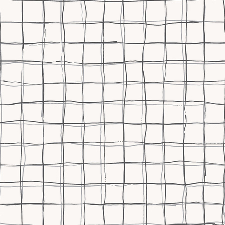 checkered: Seamless pattern design with hand drawn doodle stripes, checkered grid pattern, square shaped simple lines, perfect for all web and print purposes.