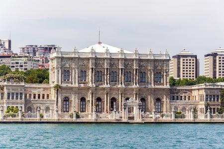 Dolmabahce-Palast in Besiktas, Istanbul-Stadt, die Türkei