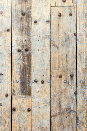 aged wood: Grungy wooden panels texture background