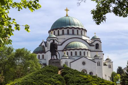 The Serbian Orthodox Christian Church of St Sava, Belgrade, Serbia