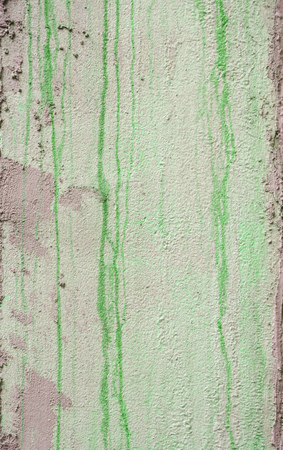 surface level: Green grungy wall texture background Stock Photo