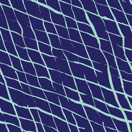 twill: Seamless pattern design with hand drawn sloppy doodle rhombus shaped lines, perfect for all web and print purposes.