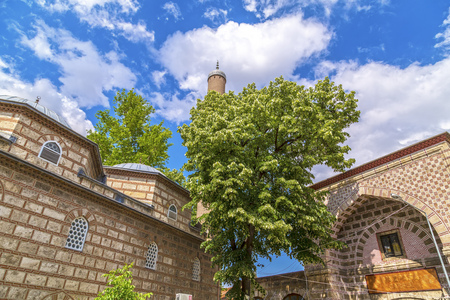 ottoman empire: Bursa, Turkey - May 17, 2016: Old Grand Bazaar, covered shopping complex built in Ottoman Empire period in Bursa, Turkeys 4th largest city. Editorial