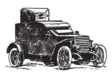 vintage autocannon car