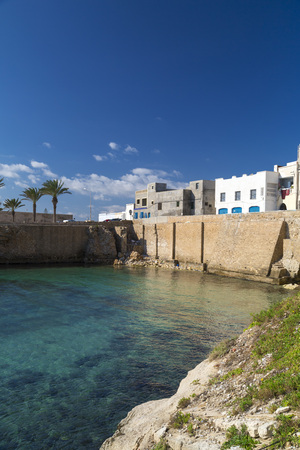 graphity: View from Mahdia city in Mahdia governorate, located by the Mediterranean coast of Tunisia.
