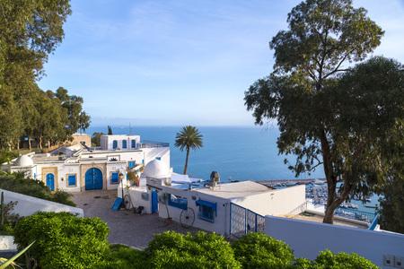 시디 보우 사이드, 튀니지, 튀니지 스톡 콘텐츠