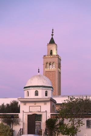 La Marsa Mosque, Tunis, Tunisia Stock Photo