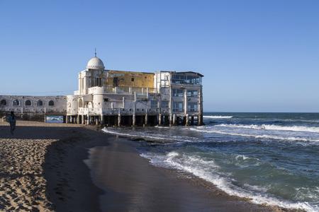 La Marsa district of Tunis city, the capital of Tunisia. La Marsa is a popular touristic coastal area in the city center. Stock Photo