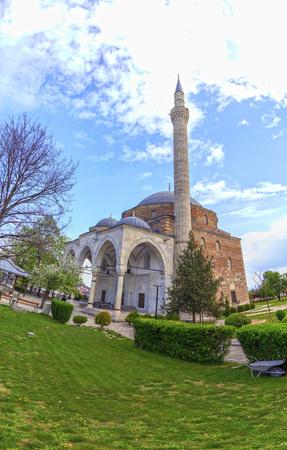 mustafa: Mustafa Pasha Pasha Mosque, an old Ottoman Turkish mosque in the Bushi district of Skopje.