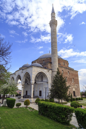 Mustafa Pasha Pasha Mosque, an old Ottoman Turkish mosque in the Bushi district of Skopje.