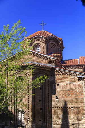 Exterior view of Church Holy Mary Perybleptos and St. Demetrius os Salonica in Ohrid, Macedonia.
