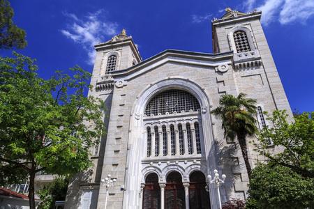 Hagia Triada or Aya Triada Greek Orthodox Church in Kadikoy, Istanbul. Built by Patriarch Joachim III and Yermenos, Metropolitan of Kadikoy in 1902.