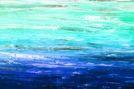 mixed wallpaper: Painted canvas fragment, abstract art painting detail texture background with brushstrokes