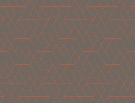 Geometric grid with intricate hexagonal and triangular shapes seamless pattern design, repeating background for web and print purposes