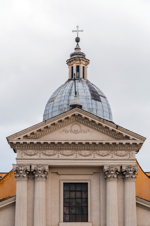 Chiesa di San Rocco or St. Roch Church, founded in 1499 by Pope Alexander VI in Rome, Italy.