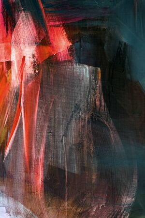 Close up detail, abstract background, fragment from painted canvas
