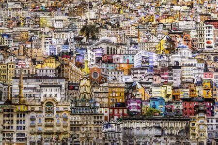Istanbul, Turkije - 21 september 2018: Kunstwerk weergegeven op de 2018-editie van Contemporary Istanbul, de grootste jaarlijkse kunsttentoonstelling van Turkije in het Lutfi Kirdar Convention Center.