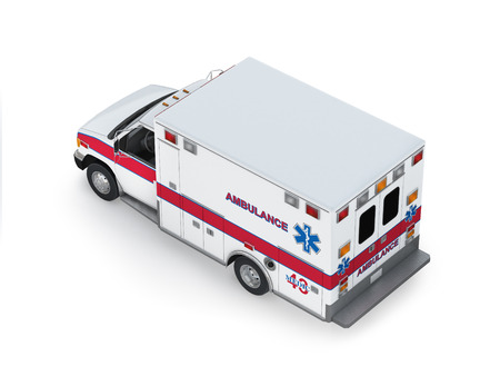 Ambulance Isolated on White Background  Ready to use illustration Stock Illustration - 22690609