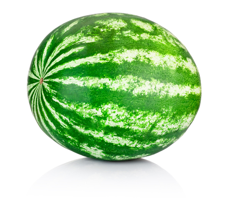 water texture: Watermelon isolated on a white background