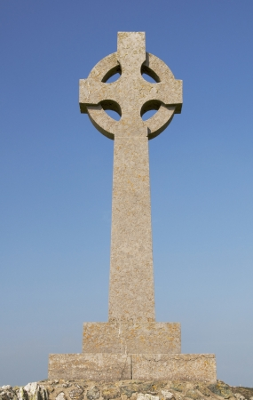 celtic cross: A welsh celtic cross Stock Photo