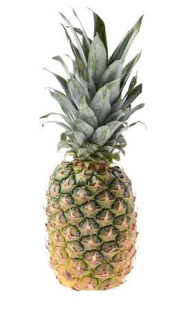 Ripe pinapple. Isolated on white  Stock Photo - 16759602