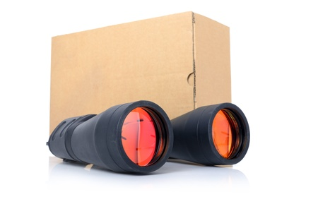 Concept of delivery tracking  Stock Photo