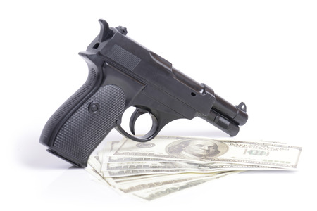 assasin: money and power concept for crimial deal or hit Stock Photo